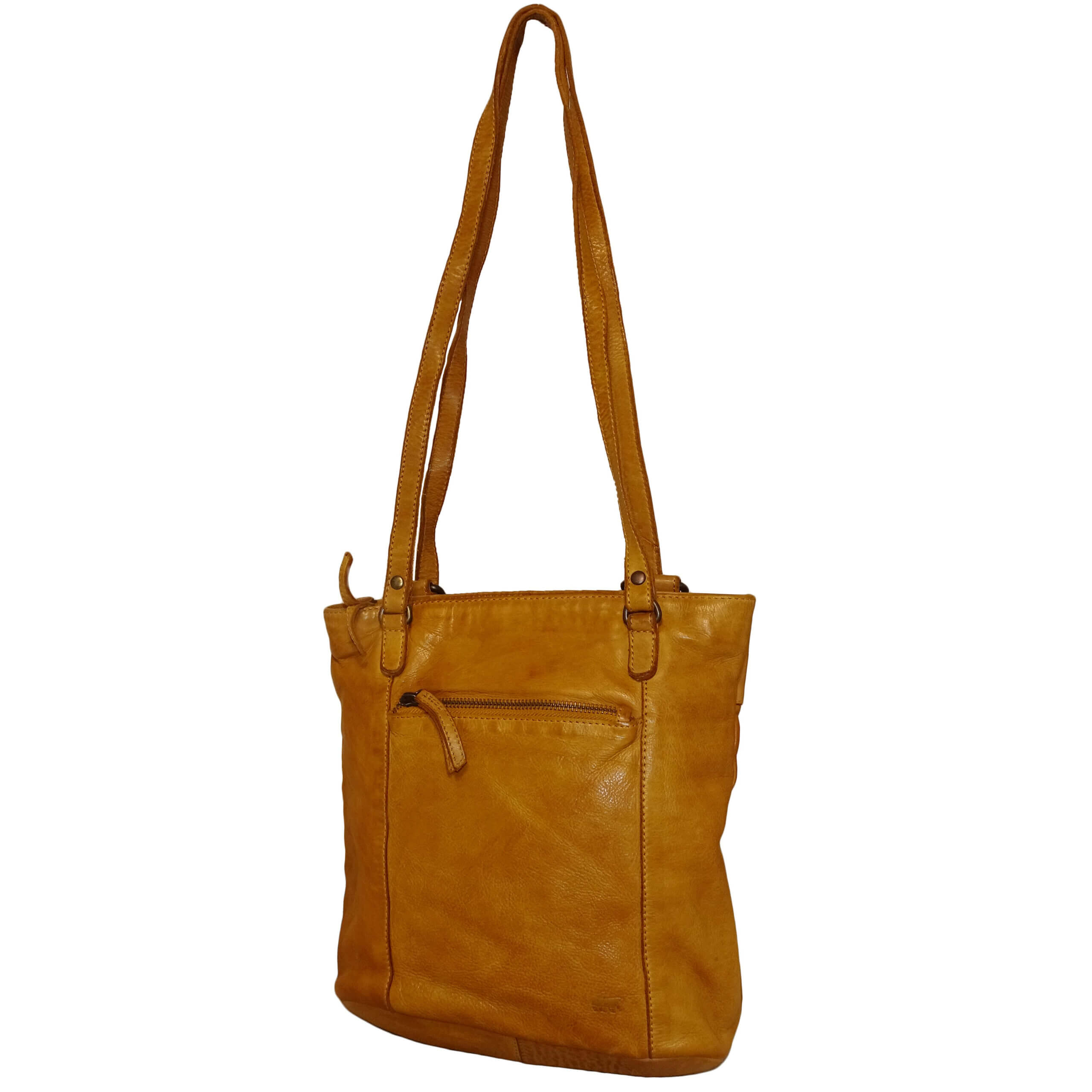 Bear Design Shopper / Rugzak Sandy Geel