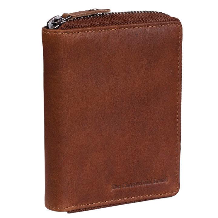 Chesterfield Portemonnee RFID Merel Cognac