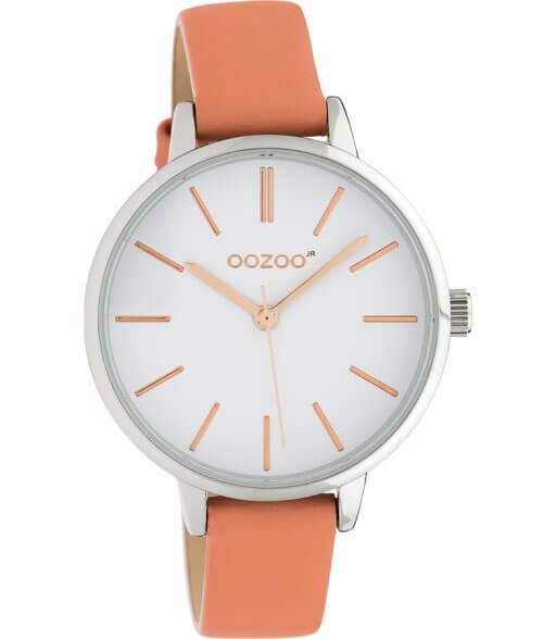 OOZOO JR Horloge Roze/Wit | JR311