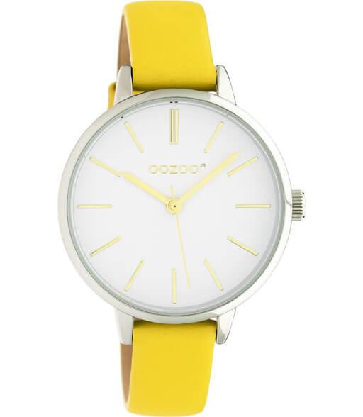 OOZOO JR Horloge Mosterd Geel/Wit | JR312