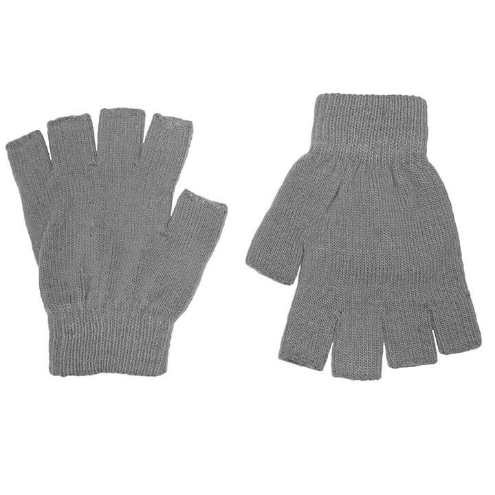 Grijze Vingerloze Handschoenen