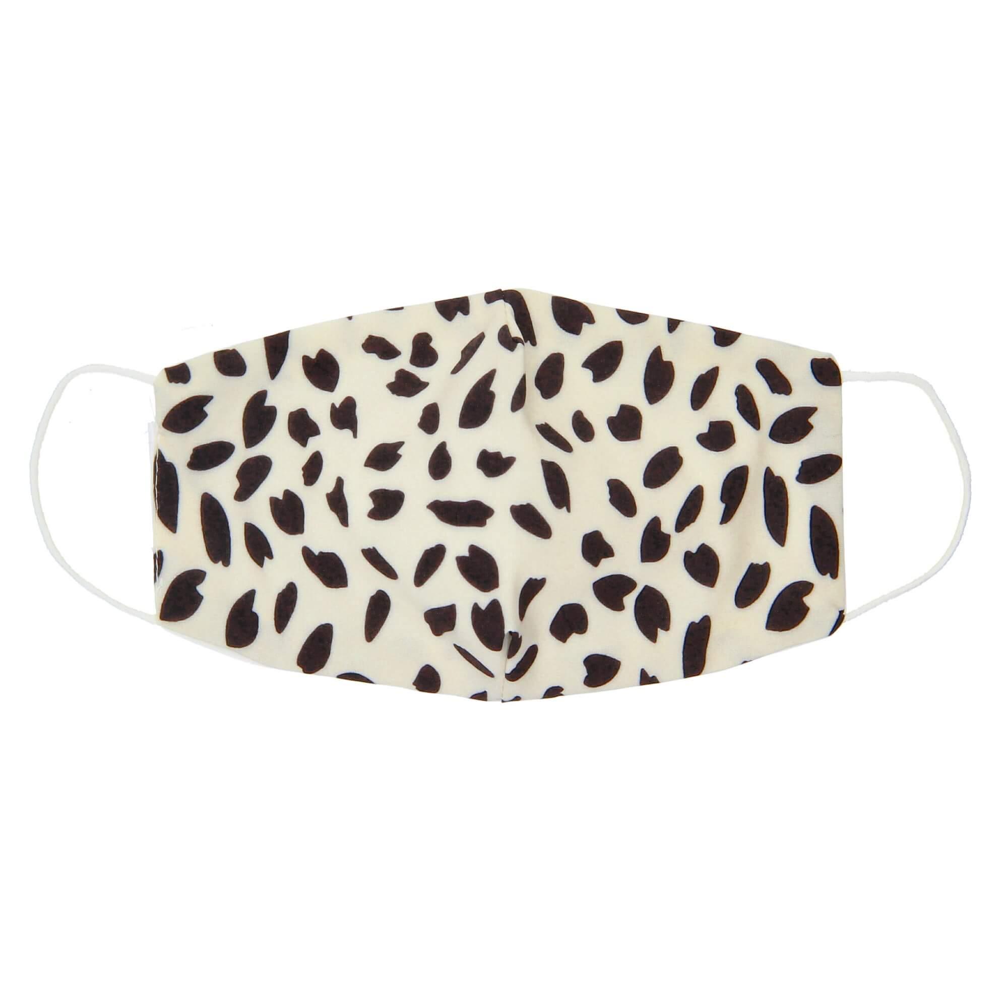 Wasbare Katoenen Mondkapje Cheetah