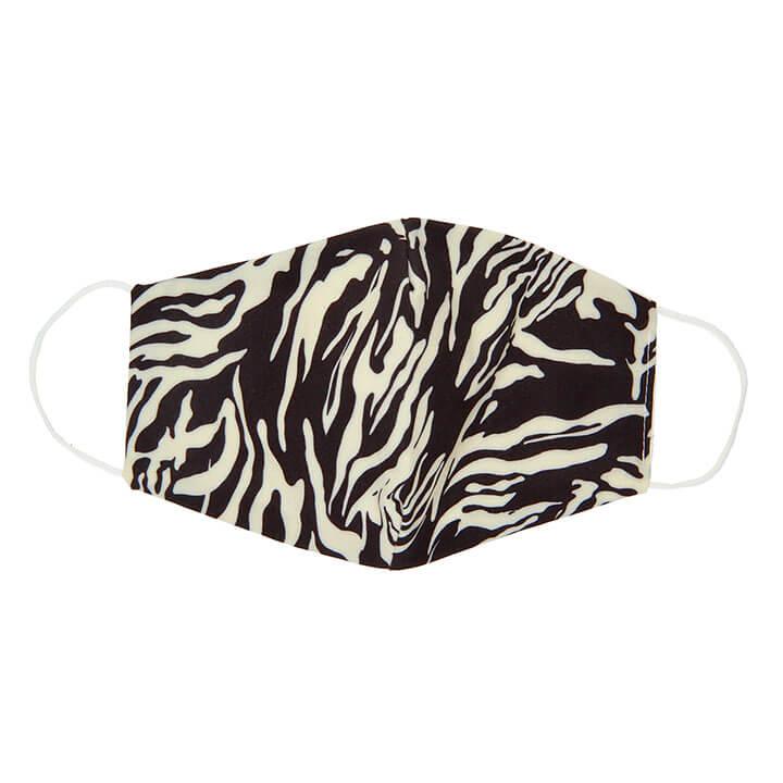 Wasbare Katoenen Mondkapje Zebra Print