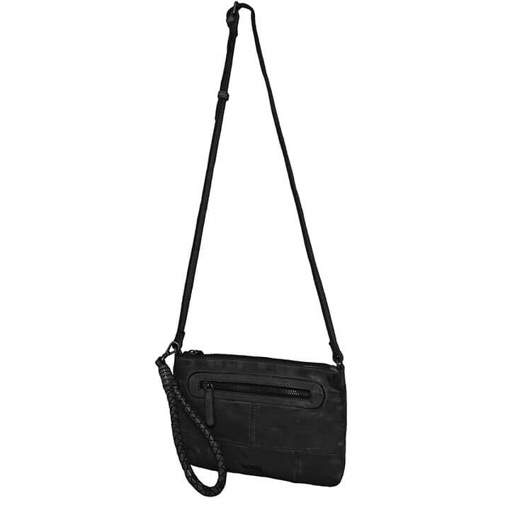Bag2Bag Schoudertasje Rubia Zwart