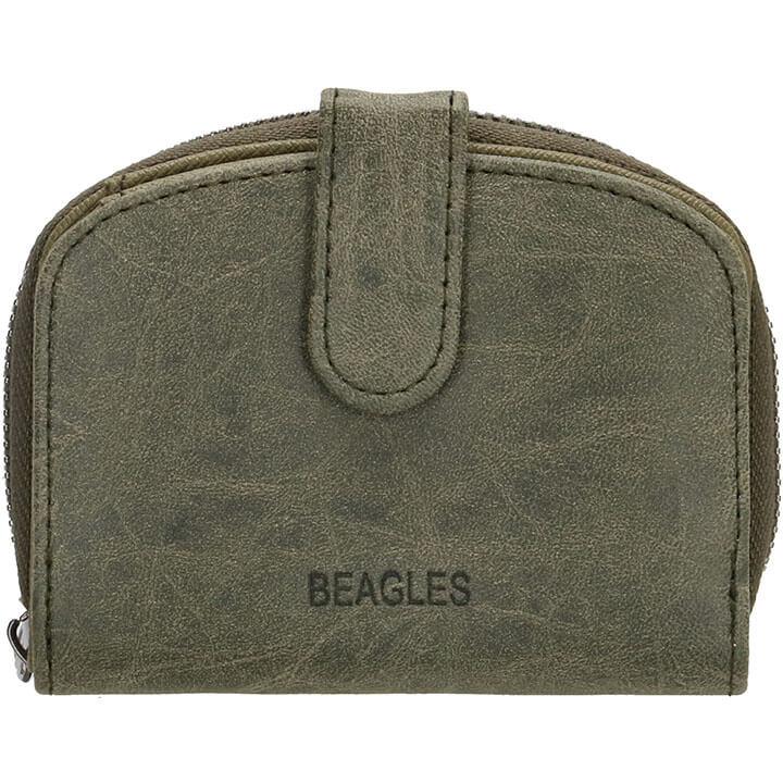 Beagles Compacte Portemonnee Meanos Olijf Groen