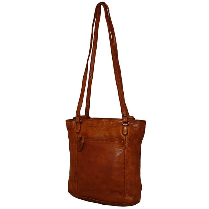 Bear Design Shopper / Rugzak Sandy Cognac