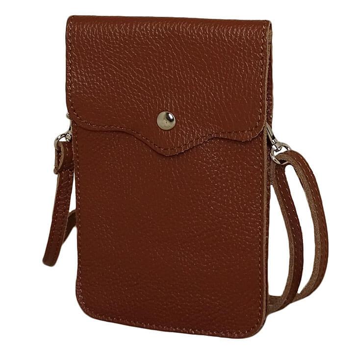 Elvy Phone Bag Billie Telefoontasje Bruin