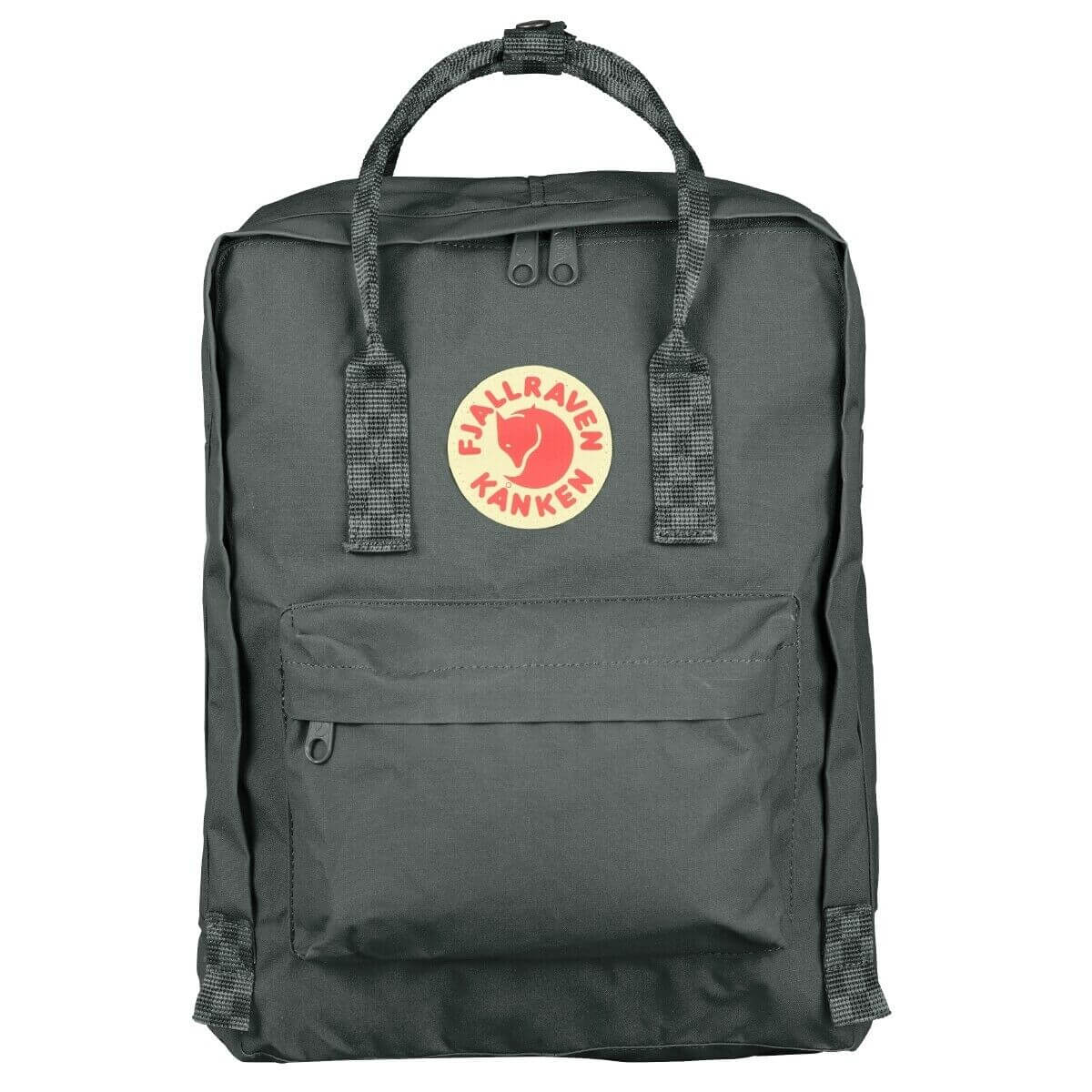 Fjällräven Kånken Rugzak Super Grey-Chess Pattern