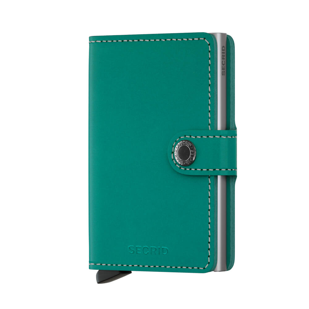 Secrid Mini Wallet Portemonnee Original Emerald