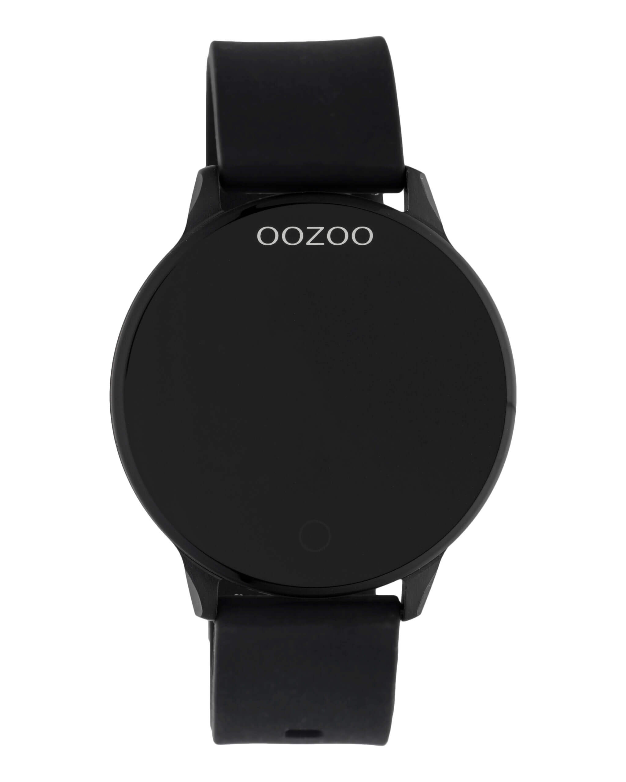 OOZOO Smartwatch Rubber Zwart | Q00115
