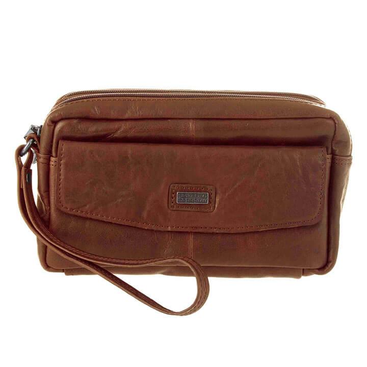 Spikes & Sparrow Wristbag Polstas Brandy