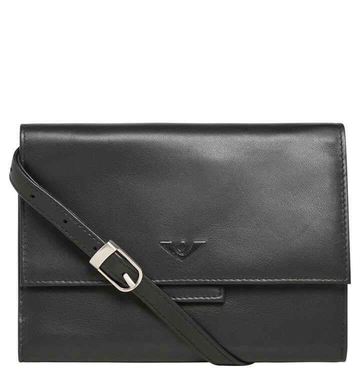 Voi Schoudertasje / Portemonnee RFID Deluxe Zwart