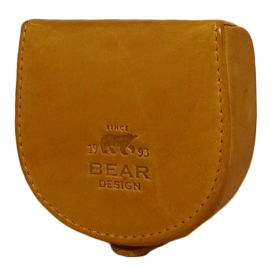 Bear Design Padvinders Portemonnee Cow Lavato Oker Geel