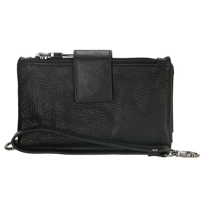 Micmacbags Portemonnee / Clutch L Discover Zwart