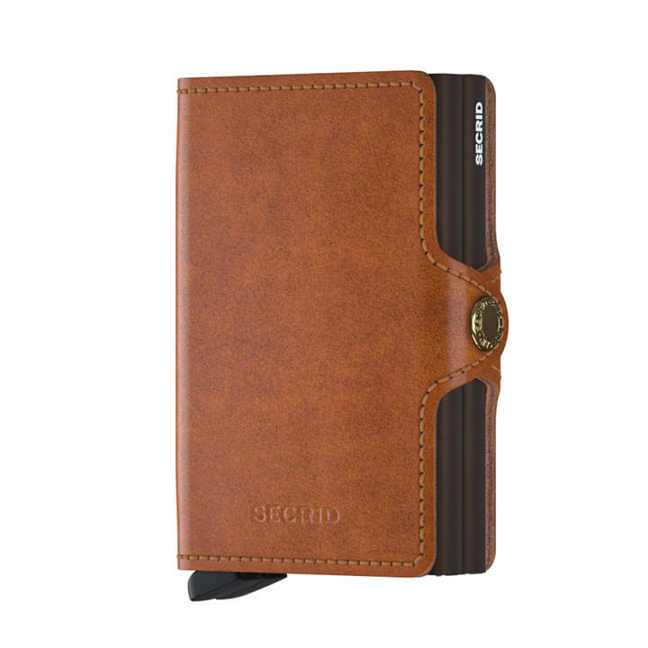 Secrid Twin Wallet Portemonnee Original Cognac
