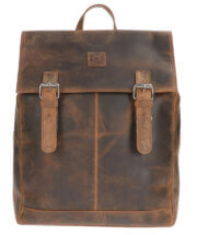 Leather Design Rugzak Hunter Bruin