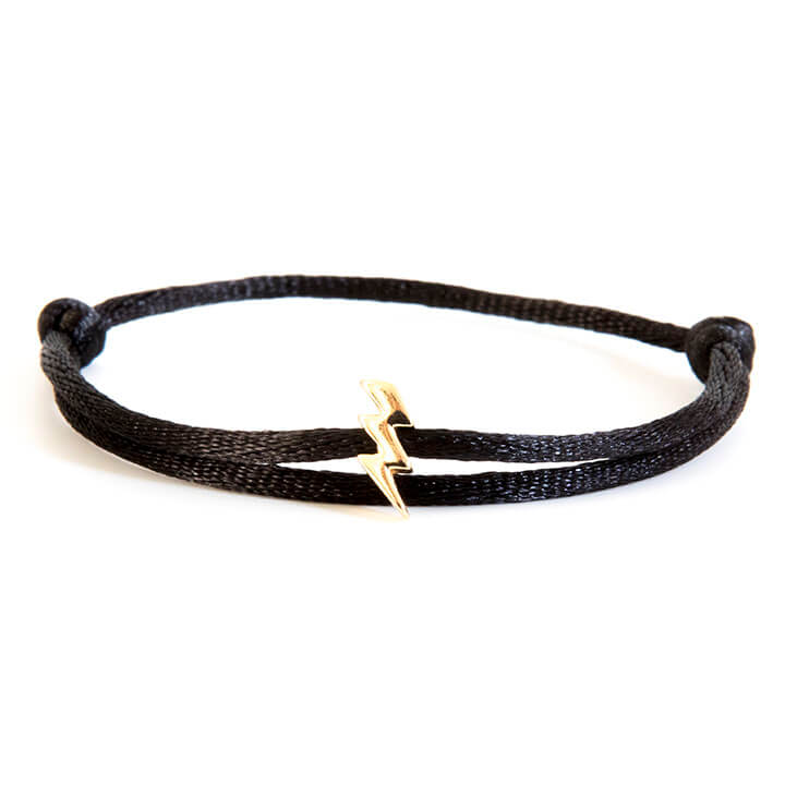 Caviar Collection Armband Neon Black X Lightning Gold