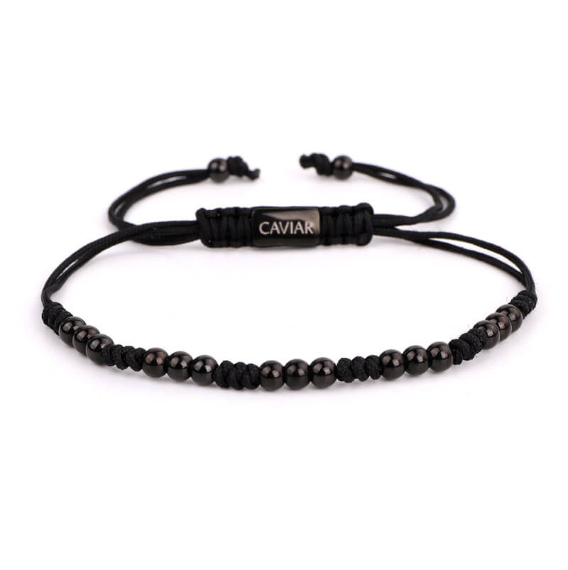 Caviar Collection Armband Mira X Gun Black