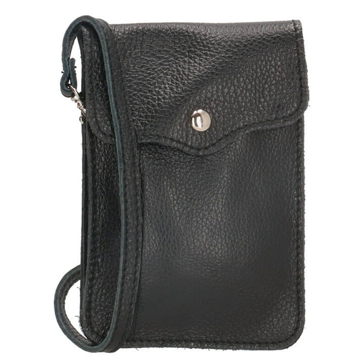 Charm London Phone Bag Elisa Telefoontasje Zwart
