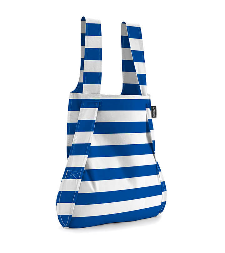 Notabag Rugzak / Shopper Marine Stripes