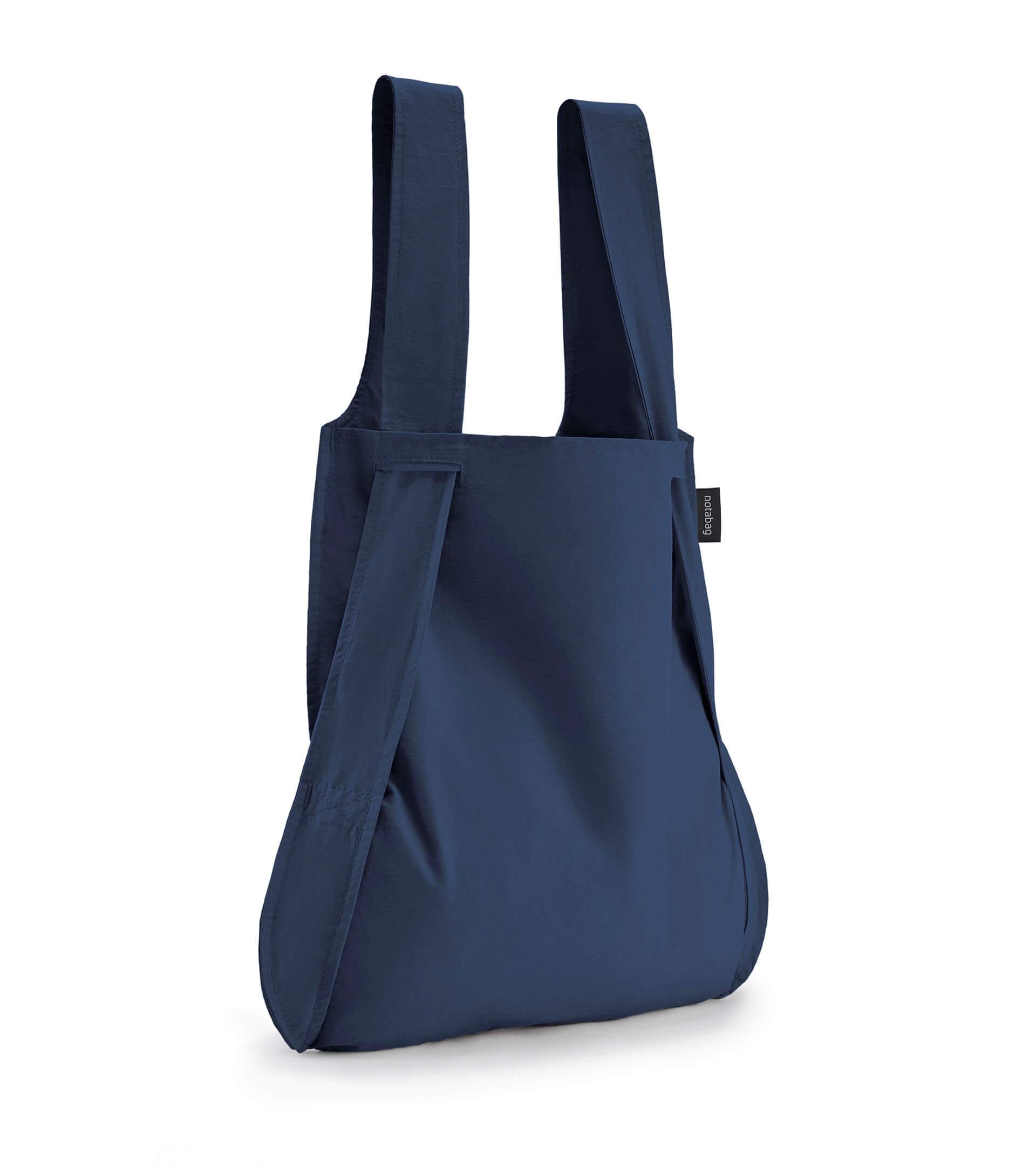 Notabag Rugzak / Shopper Navy Blauw
