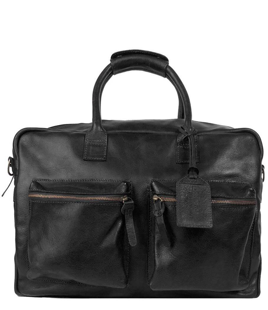 Cowboysbag Schoudertas The Bag Special Zwart   Limited Edition