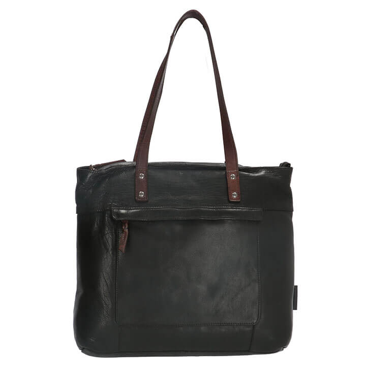 Micmacbags Shopper Highland Park Zwart