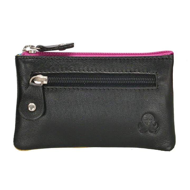 Happy Wallet Rainbow Sleuteletui Zwart