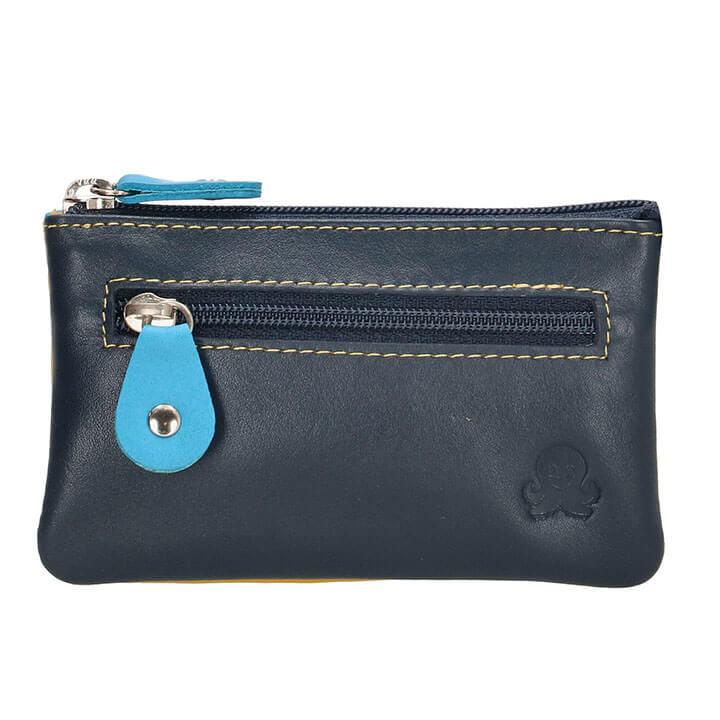 Happy Wallet Rainbow Sleuteletui Blauw