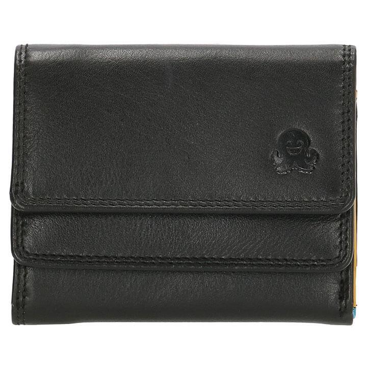 Happy Wallet Rainbow Portemonnee Zwart