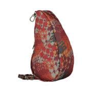 Healthy Back Bag Textured Nylon Large Baglett Autumn Checks