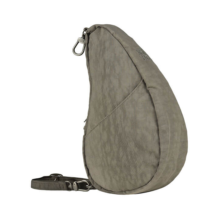 Healthy Back Bag Textured Nylon Large Baglett Truffle
