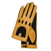 Otto Kessler Dames Touchscreen Autohandschoenen Mia Old Gold M/L