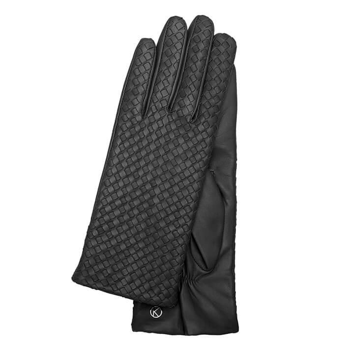 Otto Kessler Dames Handschoenen Mila Zwart