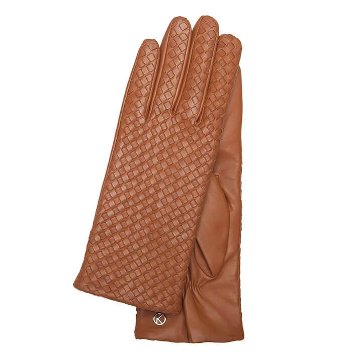 Otto Kessler Dames Handschoenen Mila Tobacco