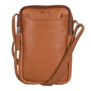 MyK Bag Lake Crossbody Schoudertasje Caramel