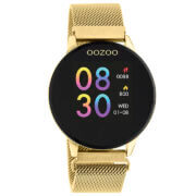 OOZOO Smartwatch Mesh Goud   Q00121