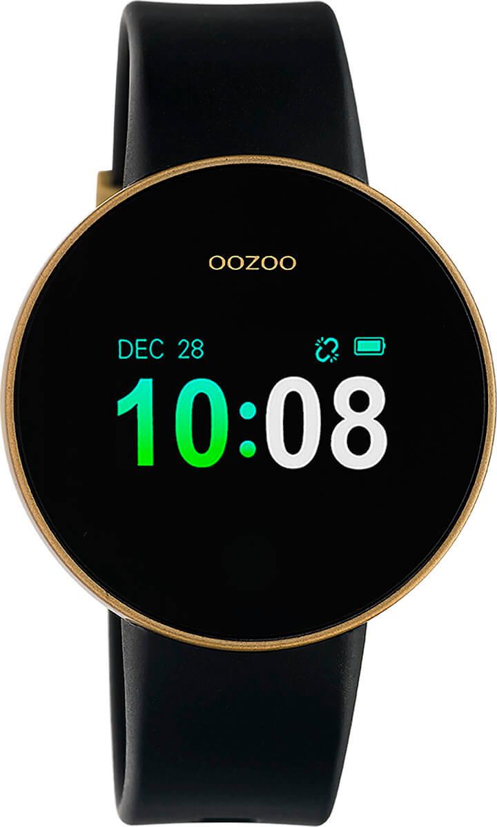 OOZOO Smartwatch Zwart/Goud | Q00203
