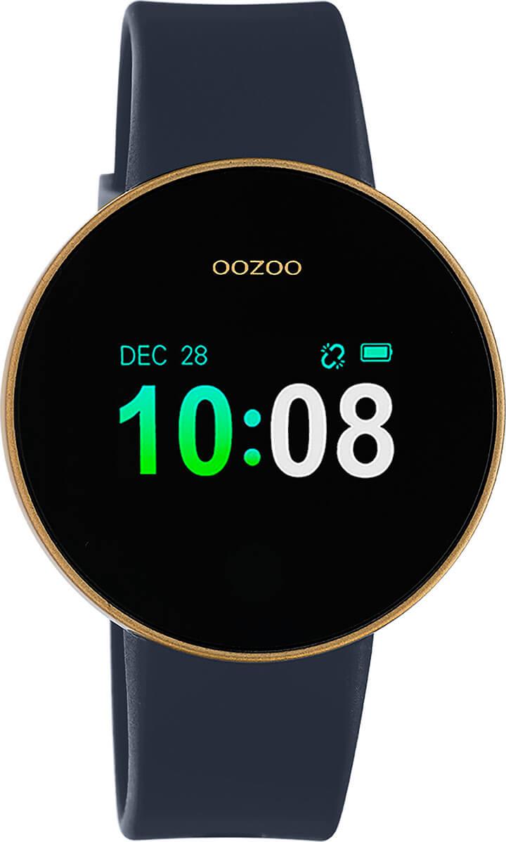 OOZOO Smartwatch Donker Blauw/Goud | Q00207