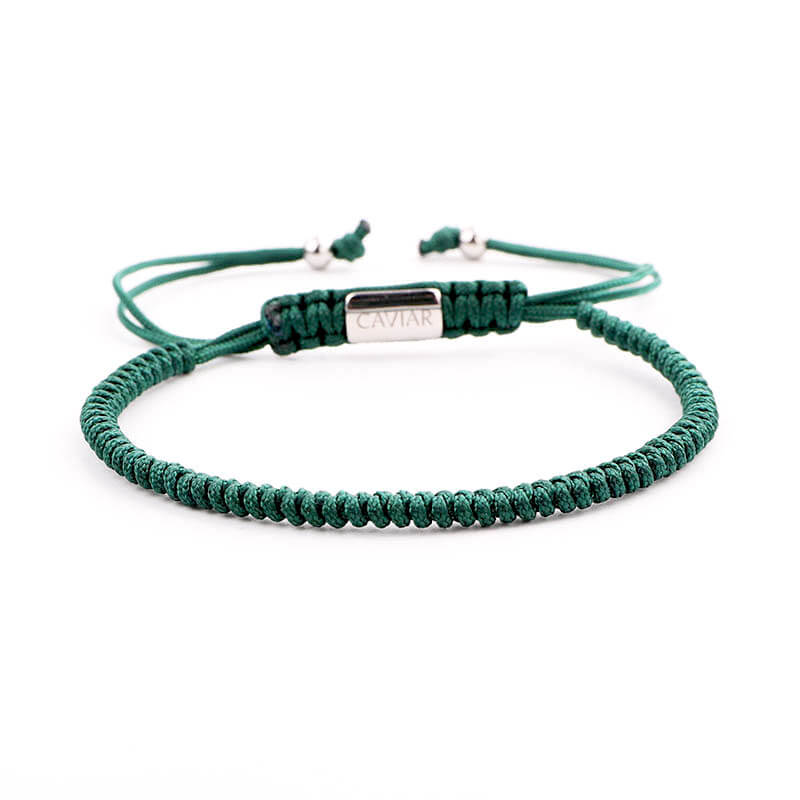 Caviar Collection Armband Neon X Army Green