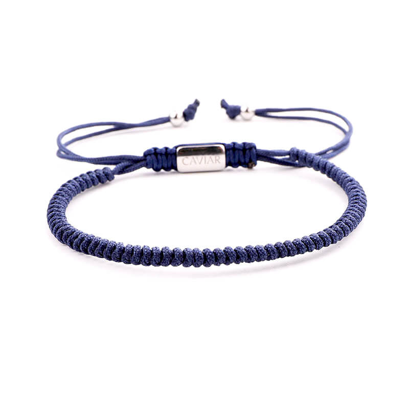 Caviar Collection Armband Neon X Classic Blue