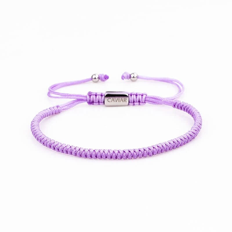 Caviar Collection Armband Neon X Lila