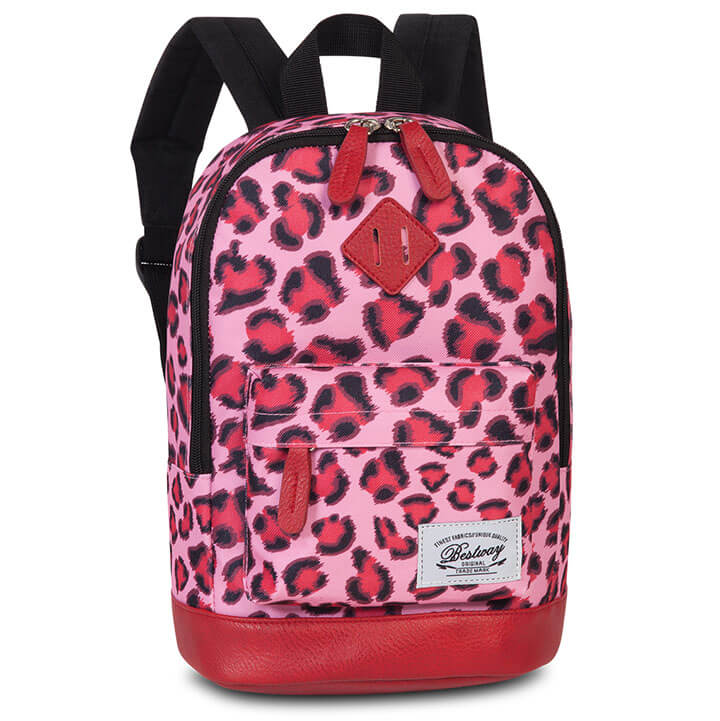 Bestway Kinderrugzak Leopard Roze