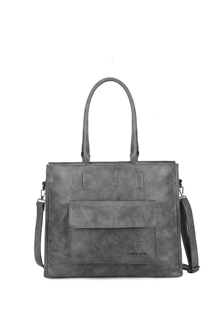 Wimona Fantasia Shopper 14'' Grijs