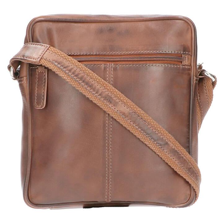 Leather Design Schoudertas Patrick Bruin