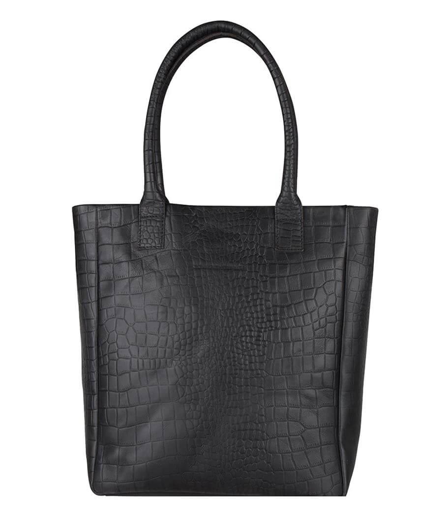 Cowboysbag Shopper Bag Quartz X Bobbie Bodt 13'' Croco Black