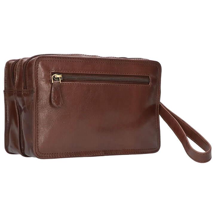 Leather Design Leren Polstas Bruin 4 Vaks