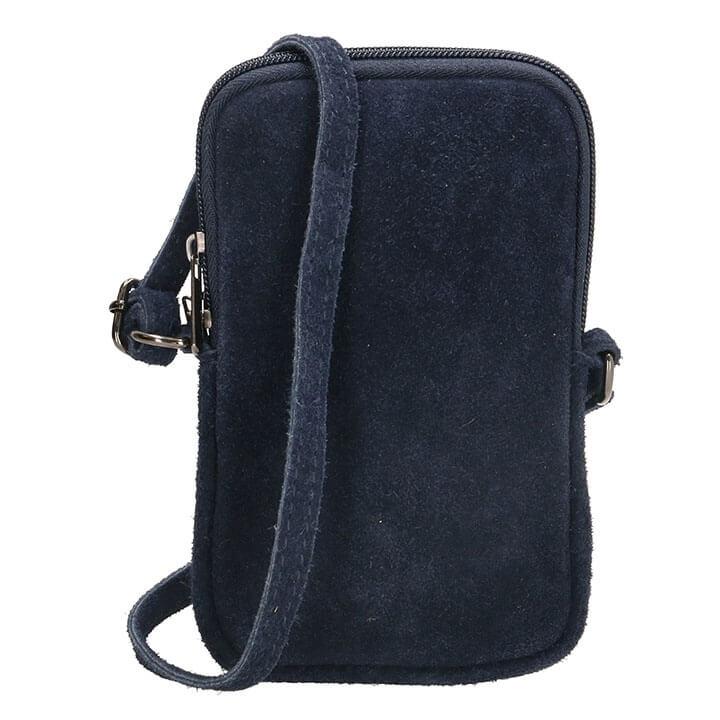 Charm London Phone Bag Elisa Suède Telefoontasje Blauw
