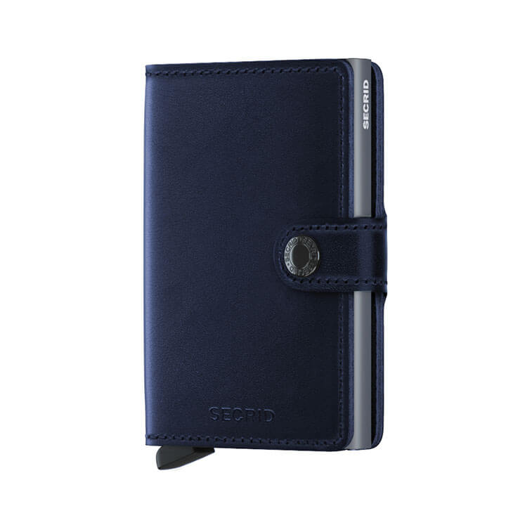 Secrid Mini Wallet Portemonnee Navy Polished