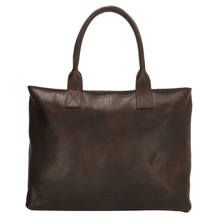 Micmacbags Handtas L Discover Donker Bruin
